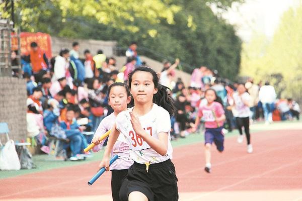 2018年春季田径运动会举行
