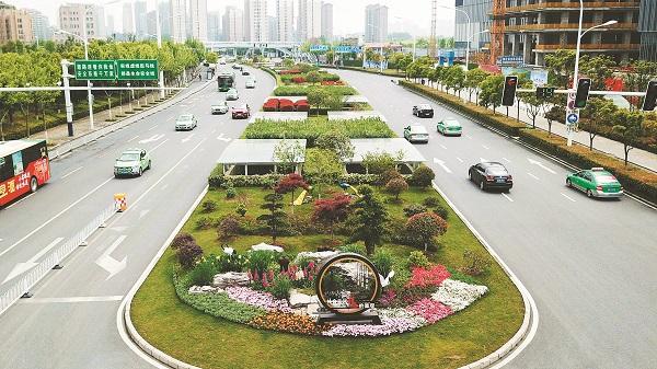 """园林绿化提档升级 将实现""""绿绕城中走、人在景中游"""""""